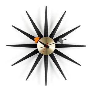 Reloj Sunburst Clock negro - Vitra