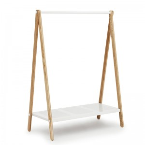 comprar Burra Toj Clothes Rack grande en fresno y acero color blanco de Normann Copenhagen