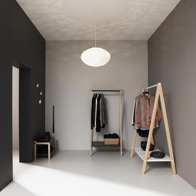 vestidor con Toj Clothes Rack de Normann Copenhagen