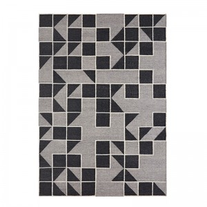 Alfombra Kilim Modica Grey de Gan Rugs en Moises Showroom