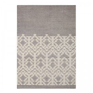 Kilim Thay Grey de Gan Rugs en Moises Showroom