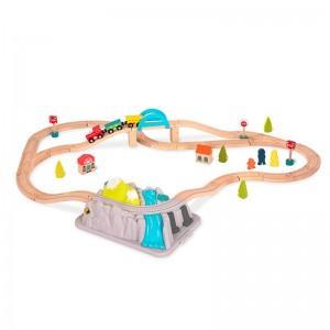wood & wheels scalextric b toys
