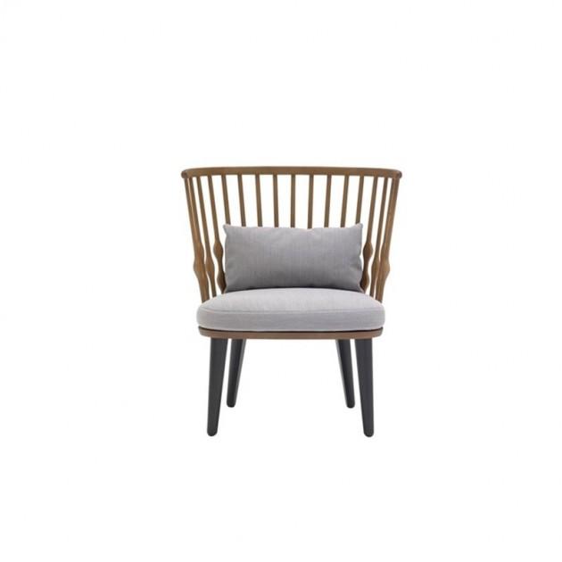 butaca Nub bu1437 Andreu World asiento tapizado